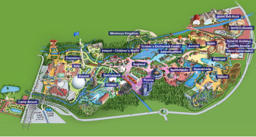 Europa-Park-Map