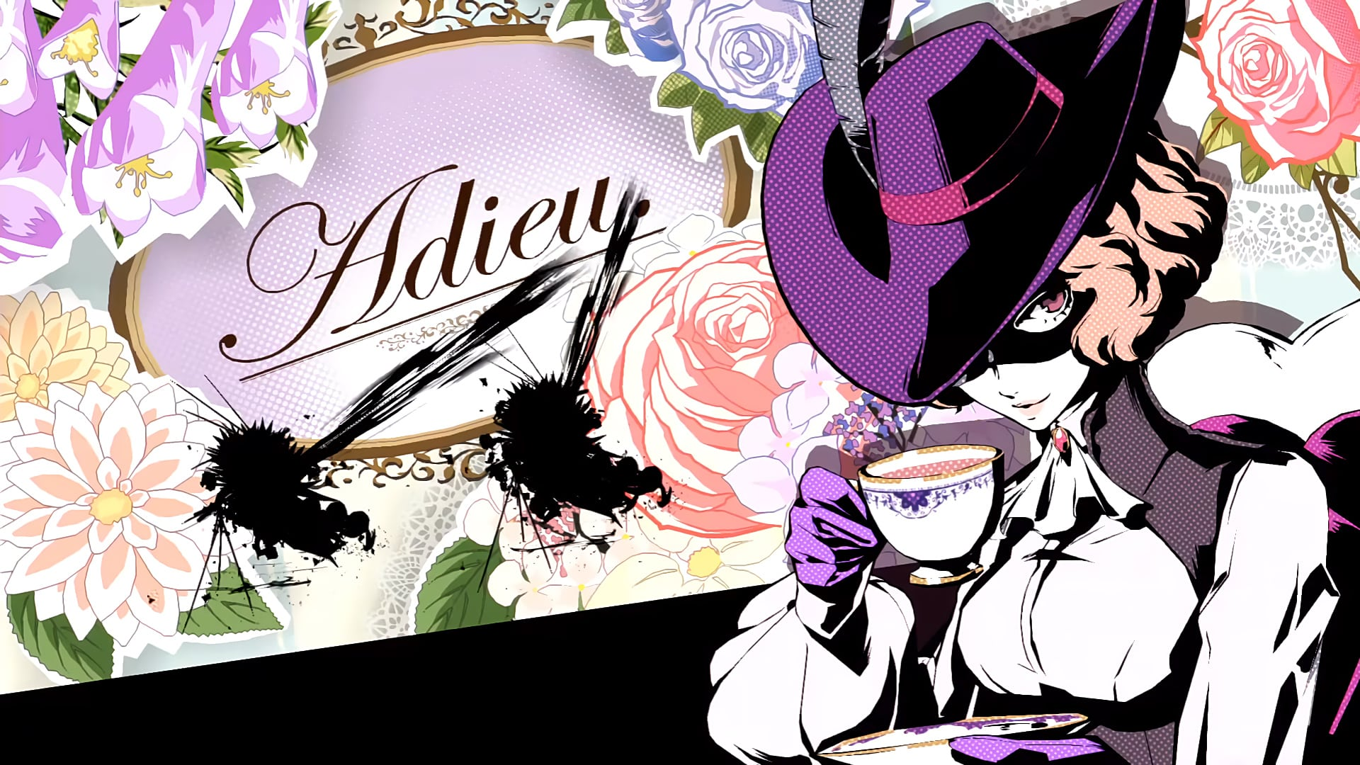 Persona-5-all-out-Haru-Wallpaper